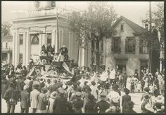 Centennial parade float, New Albany, Ind., 1913