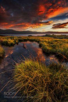 Popular on 500px : Coastal sunset by akcharly