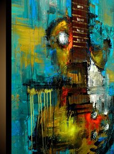 Custom Painting - Modern Abstract Art by SLAZO - 30x40 - Made To Orer