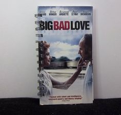 Recycled Notebook From Big Bad Love VHS Box by AWRecycledJournals
