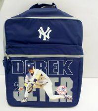 Derek Jeter Vinyl Backpack - Rare Collectible Item - New York Yankees 4a4124124