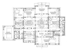 House Plan - Honeybee Bluff - Stephen Fuller, Inc.