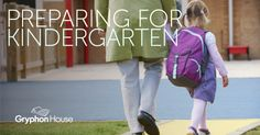 Is your child ready for #Kindergarten? Use this free resource to help them prepare for their first day of school!   www.GryphonHouse.com