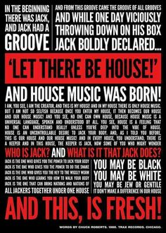 Music Industry, House Music, The Creator, Let It Be