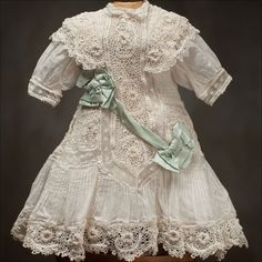 I would like to make something similar to this. Making a bit of Irish lace and using batiste fabric and wide satin ribbon.