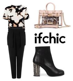 """""""If Chic"""" by tania-alves ❤ liked on Polyvore featuring Walter Baker, Cameo, Miista, Mohzy and ifchic"""