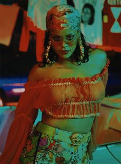 Rihanna #WildThoughts 6/17 Goddess reigning |@EvaLand