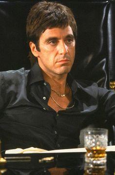 Al Pacino - Scarface (1983) oh MY GOODINESS........SEXINESS AT IT'S PEAK!!! WOOOOOO....