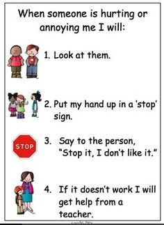 Learn to say STOP