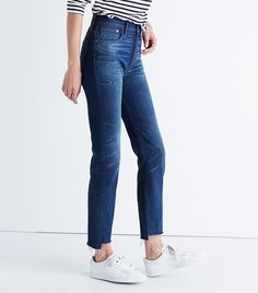 Madewell!! Need these adapt!!!   The+Denim+Trend+Almost+Every+Brand+Is+Backing+for+Fall+via+@WhoWhatWear