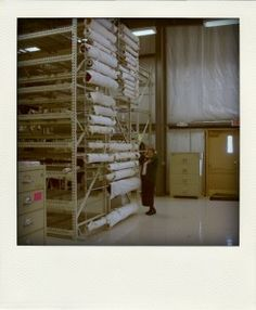 On a roll: Textile storage- Museum Minute Blog