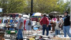 Raleigh Flea Market, North Carolina  An anything-goes state fair spirit runs through Raleigh's weekly flea market, held on, yes, the fairgrounds every Saturday and Sunday