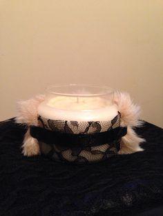 Mistress Candle... A little fur & a little lace...