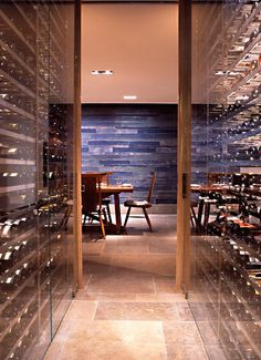 "Wine cellar ""walls"" 