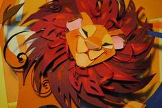 The Lion King Papercut, by Brittney Lee
