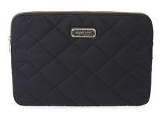 "Marc by Marc Jacobs Crosby Quilt Nylon 13"" Computer Case in Black"