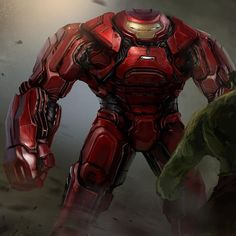 Hulkbuster concept for Avengers Age of Ultron. Enjoy! #conceptart #comics #avengers #ironman #illustration #art #film #instagood @rodneyimages #marvel