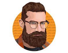 Portrait Illustration, Illustration Artists, Vector Portrait, Portrait Art, Your Image, Adobe Illustrator, Behance, Profile, Cartoon