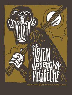 The Brian Jonestown massacre // design by Furturtle Printworks Skateboard Art Design, Album Art, Graphic Poster, Gig Posters, Illustration Design, Rock Posters, Art, Poster, Music Poster