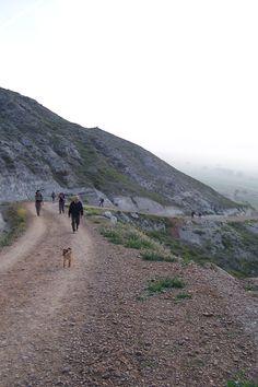 Castrojeriz, Climb up the Meseta