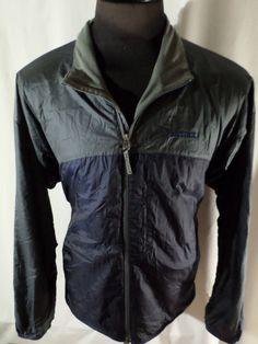 Marmot XL Windbreaker Jacket Dark Blue Athletic Gear Outdoors Nylon #Marmot #Windbreaker
