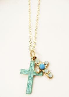 Clara Beau Cross Necklace