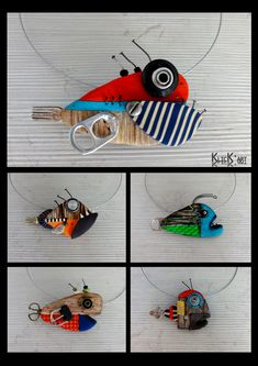 Recycled Crafts, Diy And Crafts, Arts And Crafts, Driftwood Projects, Driftwood Art, Fish Wall Art, Fish Art, Waste Art, Fish Sculpture