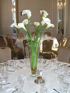 Tall Wedding Centerpieces | ... over 4 feet tall on a wedding reception table as a grand centerpiece