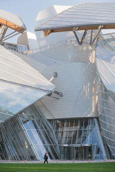 Frank Gehry : Fondation Louis Vuitton…