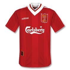 95-96 Liverpool Home Shirt - Grade 8