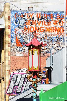 Chinatown  Buildings, San Francisco www.mitchellfunk.com