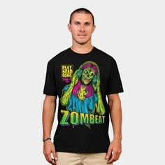Zombeat Zombie Headphones T Shirt - other styles and colors are available - tops for women and men
