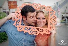 So vibrant!   John and Noelle   July 2013 #engagement #photography