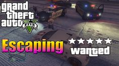 "GTA 5 Online | ""Escaping Five Stars"" 
