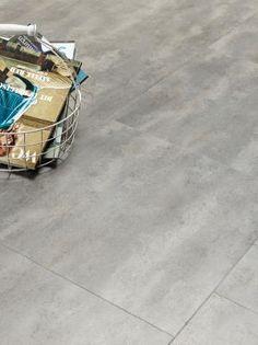 Concrete 40945 - Stone Effect Luxury Vinyl Flooring - Moduleo