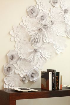 Flower Installation by Bespoke Design , via Behance