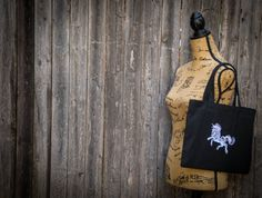 White Mystical Unicorn Tote Bag by ScarftasticCreations on Etsy