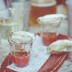 Oyster shooters @ The Depot Auckland