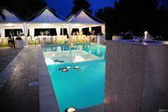 Location di #matrimonio con piscina