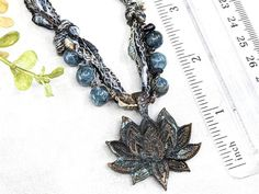 Blooming Lotus Necklace  Wiccan Jewelry Witchcraft Talisman / image 3 Lotus Necklace, Wiccan Jewelry, Red Tigers Eye, Witch Fashion, Witch Aesthetic, Dark Gothic, Witchcraft, Natural Gemstones, Just For You