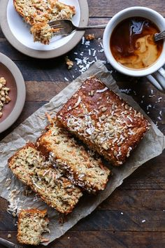 Grain-Free Paleo Morning Glory Quick Bread - refined sugar-free, dairy-free, and healthy! | TheRoastedRoot.net #glutenfree #healthy #breakfast