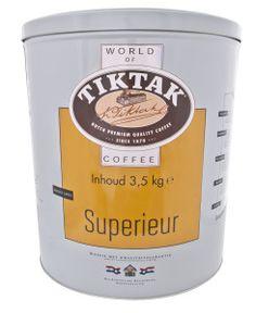 Tiktak Koffie Superieur Blik 3,5 kg