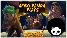 "Join me trying out the demo of a new in-development game called ""Henry Mosse and the Wormhole Conspiracy"". The indie game studio, Bad Goat Studios are curren. Pandas Playing, Game Calls, Indie Games, Conspiracy, Afro, Adventure Game, Adventure Movies"