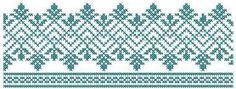 Cross stitch border free embroidery design. Machine embroidery design. www.embroideres.com