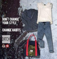 DATCH Women's//Change Habits/Spring Summer 2015