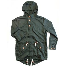 streetstylemarket:  HAMPDEN - Parker Coat - Hunter Green | MR SIMPLE