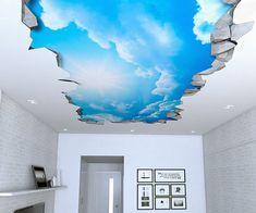 Blue Sky Ceiling Art Decals