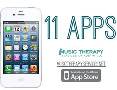 11 Apps to use in your music therapy sessions.