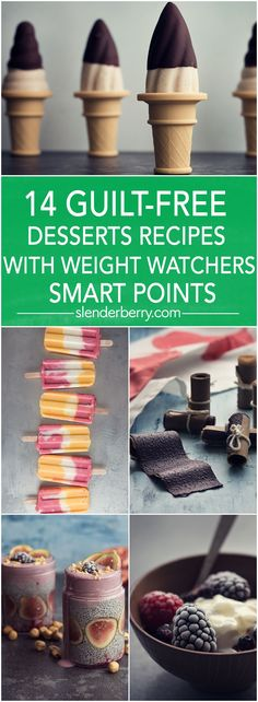 14 Guilt-Free Desserts Recipes with Weight Watchers Smart Points