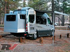 Check out the Roadtrek SS-Ideal motorhome, the first and only class B with a rear slide-out, only on rvmagonline.com, the official website of RV magazine.